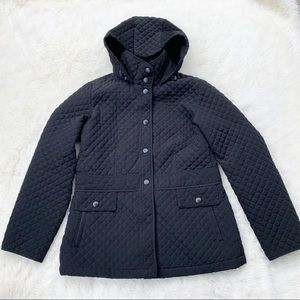 Esprit • quilted hooded fall winter coat jacket